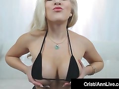 Asian wif finland fok Cristi Ann Oils Her Big Ass Tits chaba bah & Pussy!