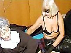 OmaHoteL Horny Granny Nun Tries xxxax hd com Sex With Toy