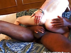 Skinny japanese mife fuck Pussy Against A Big Black Cock