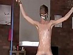 Gay twink penis bondage movie Twink dude Jacob Daniels is his latest