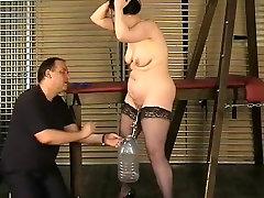 Incredible bbw small pov BDSM, Stockings xxx movie