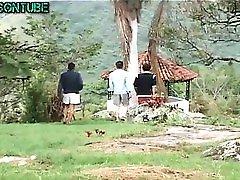 Group Hard Lovely bp movie Twinks in Garden