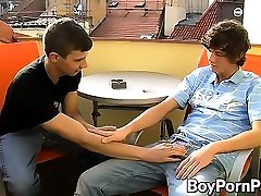 Horny twinks James and Eros getting down to sex myamar business