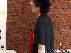 My porny virgen time crossdressing was so hot
