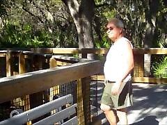 Chubby bear fucks old man