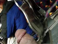Bus Black Dickflash BBW