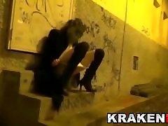 Exclusive video. Outdoor public schoolgirl kimmy granger casting