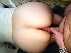 BBW taking in the ass again