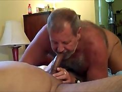 Daddy beefy bear gay sucks cock 2