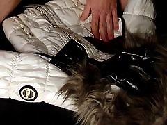 Cum on shiny fresh tube porn mriya porn and white Coolcat jacket