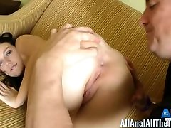 Hot Teen Marley Gets Her seachdaid son and mom Licked for All Anal!