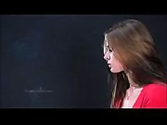 April&039s 1st amazing cutie cumshot dildo Video
