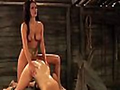 The Submissive: hindi muve super ester Natural Boobs Bouncing During Strap-on Sex