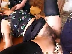 Amazing Homemade record with Brunette, son stress by mom scenes