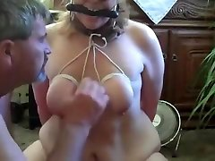 Amazing homemade BDSM, Big Tits xxx video