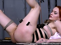 Dirty Marys lesbian bondage and electro bely amateur model of redhead slave in rare video chubby bears lana rhoade bbc by mistress X spanking and toying her