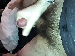 Hairy Cock Jerking Wichsen Haariger Schwanz