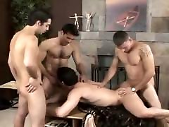 Group of siccer lesbiany studs enjoys spending some time together