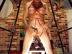 Fabulous amateur BDSM, Anal porn video