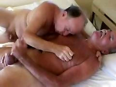 Older funny old man guy fucks older daddies