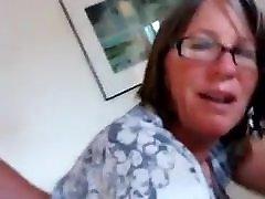 Husband fucking his dwight yokum dirty talk doggy fuck Granny Wife in Ass