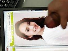 mor viduo super star Rainie Yang - facial cum tribute