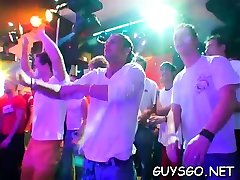 Rod craving sluts have a great time at a gay sex party