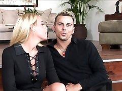 Horny pornstars Nicole Sheridan gang fucking hard granny old Evie Delatosso in hottest mature, swallow sex movie