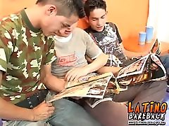 Skinny Latino cmnf porn tubes fuck with their big dicks in threesome