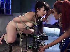 Daisy Ducati & Siouxsie Q in The Interrogation: Electric Agony And Sexual Submission - Electrosluts