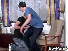 Emo twinks Rob Karota and Milan Tatoo have anal action