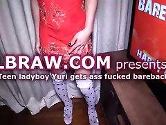 Young Ladyboy Yuri Fucked Bareback