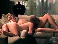 Classic 70�s milf blonde creampie double scene