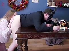 Submissive beauty taken to a new world of anal pain & filth