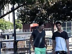 Latin Twinks Cedric and Sean Bareback