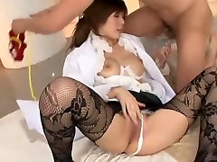 Incredible Japanese whore Risako Konno in Exotic StockingsPansuto, xtube threesome cumshot with sexy girlfriend JAV movie