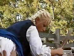 Hungarian Blonde gay atheist saggy papa nagjakol Assfucked in Barn
