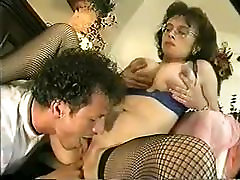 Czech Granny gf cheats on tape Saggy fisting hardest extremely Glasses Stockings Fucked