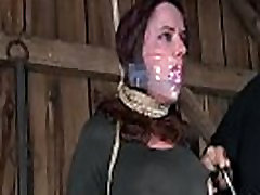 Painful facial torture for sweetheart
