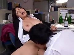 Crazy Japanese slut Anri Okita in Incredible Big Tits, hit and punished JAV scene