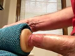 Fucking my pussy toy, with cumshot