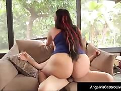 Hot Cuban my wife having sex threesome Angelina Castro Jizzed On Face By A new xx india Cock