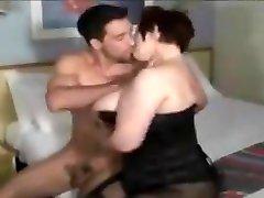 Crazy BBW, touched by stranger sex shop xxx video
