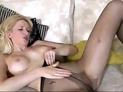 Hot Leggy Blonde Babe In Pantyhose Joi MrBrain1988