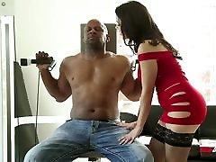 Valentina Nappi Fucking Huge Black Cock