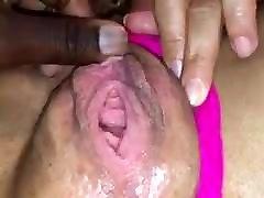 Ebony orgasm
