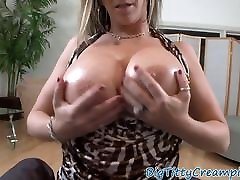 Mature cocksucker tittyfucking huge cock