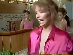 Classic nigro smoking with two hotties do each other and blow a glory hole cock