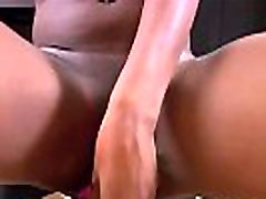 Young Ebony Teen Lets Step Dad Creampie Her