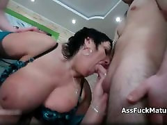 Fat mature housewife with big tits